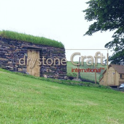 dry stone outbuilding