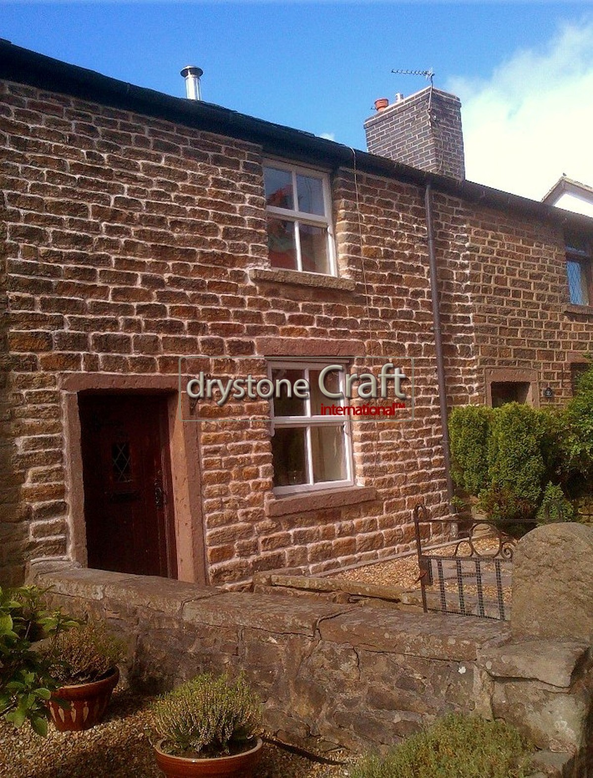lime mortar to watershot stonework cottage restoration 2 bnscl ch